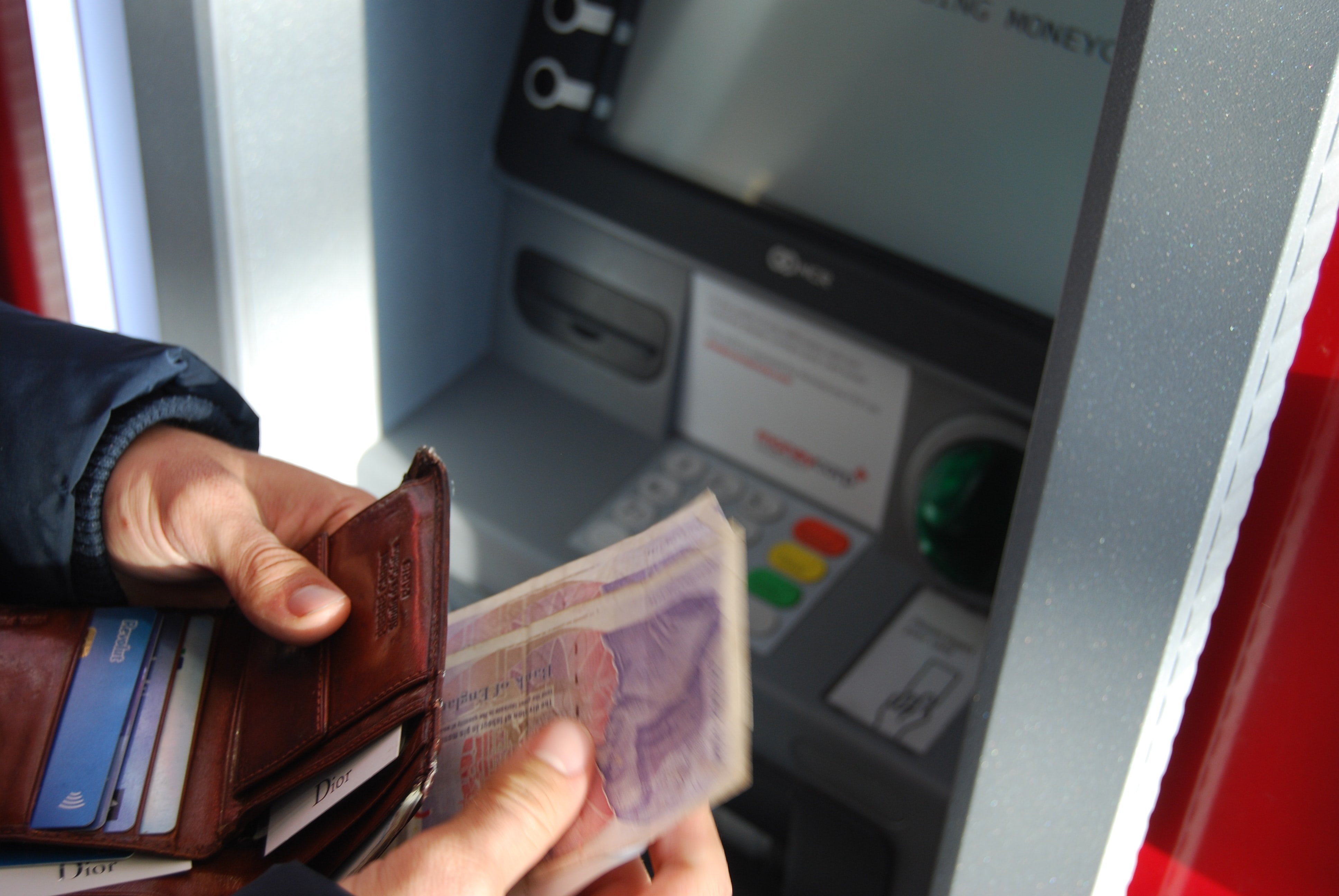 Banking with a visual impairment